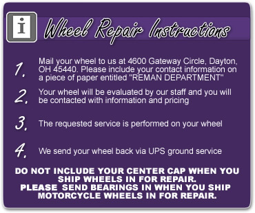 repair instructions